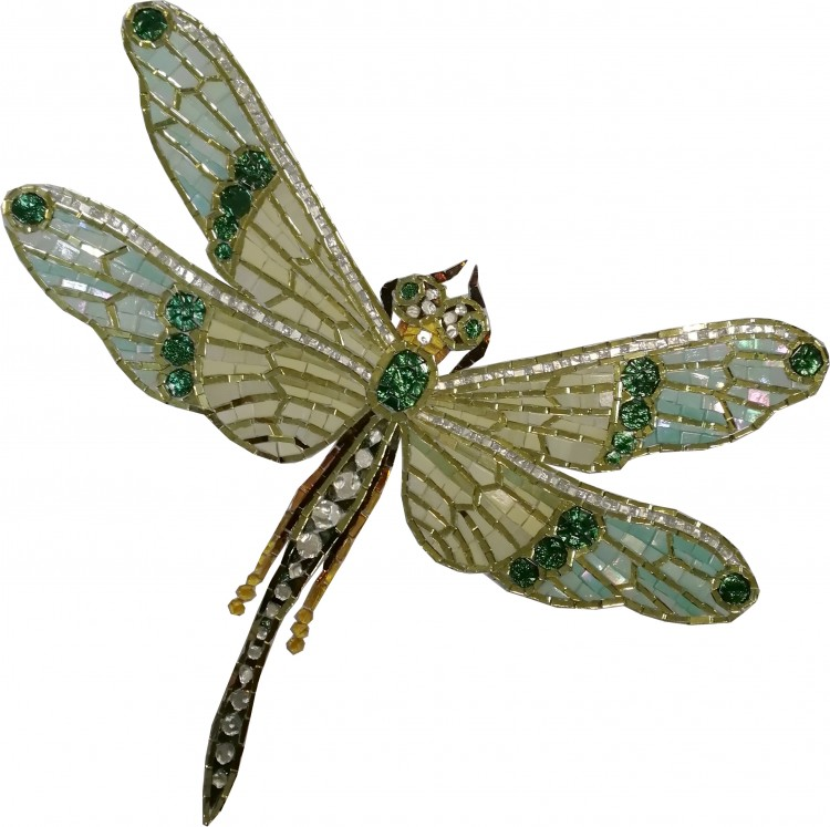 DRAGONFLY ART DECO 01